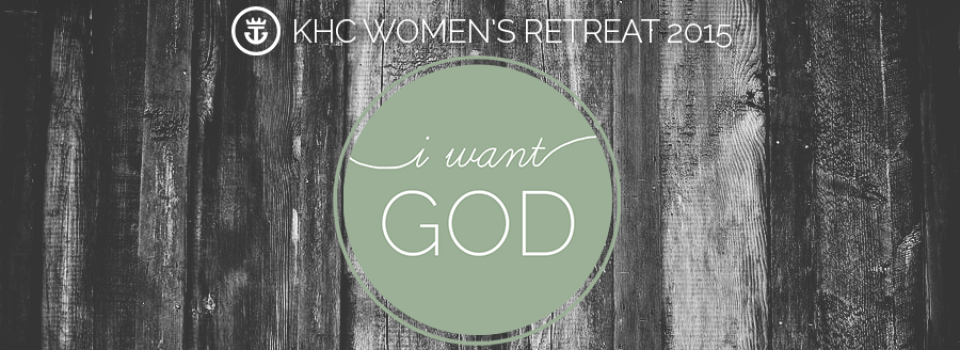 Women's Retreat 2015